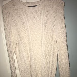 Cable knit sweater from J. Crew Factory